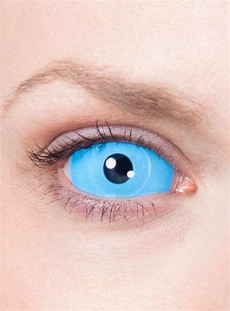 Light Blue Contacts by Sclera Light Blue Contact Lenses