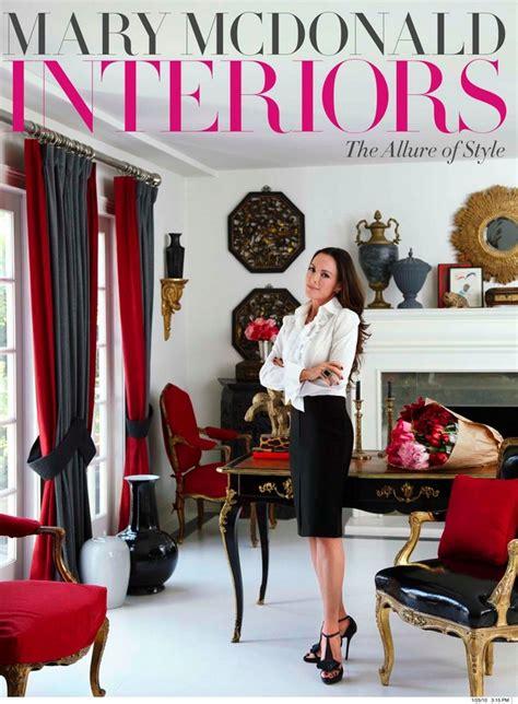 mary mcdonald designer million dollar decorators and the inspiring mary