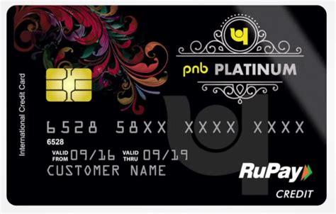 Credit Card Form Pnb rupay credit cards launched forum