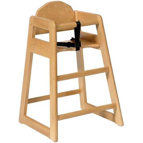 chaise haute pour enfant chaise haute sans plateau pour enfant simplex bois clair