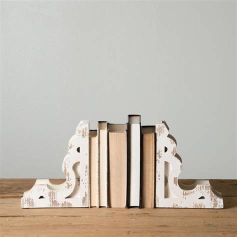 book end white corbel book ends magnolia chip joanna gaines