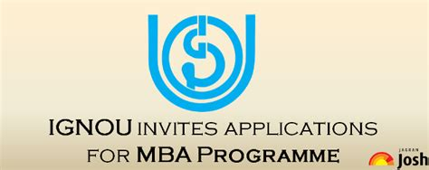 What Is An Mba Programme by Ignou Invites Applications For Mba Programme Apply For