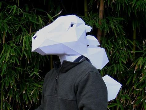How To Make A 3d Paper Mask - awesome 3d paper masks and sculptures you can make yourself