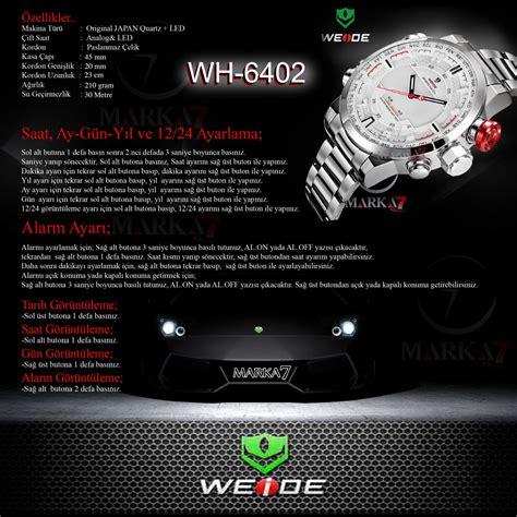 Jam Tangan Weide Original Cocok Digunakan Sehari Hari 6 weide jam tangan analog wh6402 white jakartanotebook
