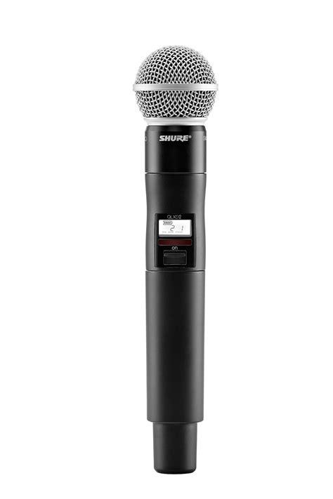 Mic Wireless Shure Blx 100 Handheld Pro shure qlxd124 85 combo digital wireless microphone system