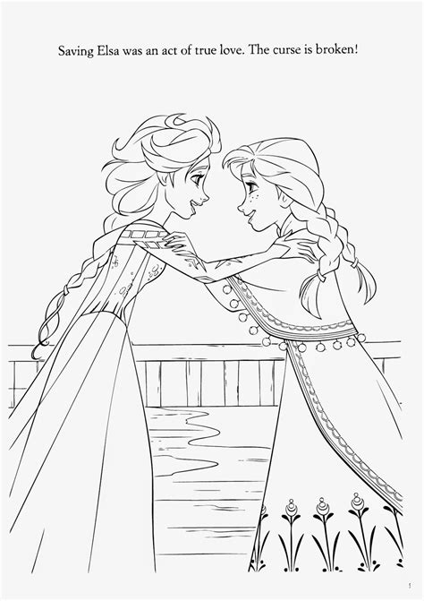 elsa valentines coloring pages frozen anna and elsa coloring pages coloring home
