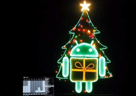 christmas lights and music synchronization yes you can even use android to control your christmas