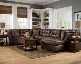 Burgundy Sleeper Sofa Frontier Canyon Chaise Sectional By Ashley Furniture
