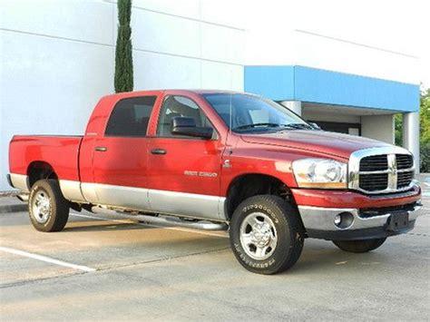 dodge ram 2500 cummins turbo diesel mpg find used 2006 dodge ram 2500 4x4 mega cab 5 9l cummins