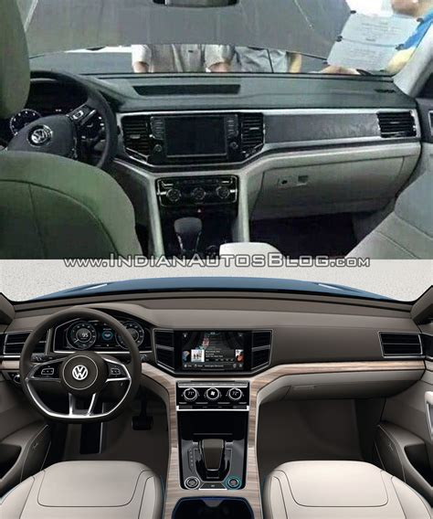 volkswagen crossblue interior vw teramont vs vw crossblue concept interior dashboard