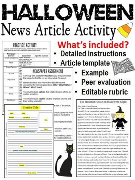 feature article template newspaper article writing options template