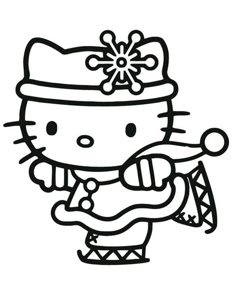 hello kitty merry christmas coloring pages free printable santa merry christmas xmas coloring pages