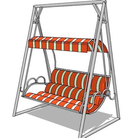 swing file porch swing 02 3d model formfonts 3d models textures