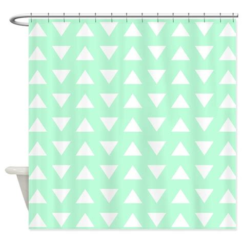 mint green shower curtain fabric mint green pattern shower curtain by metarla3