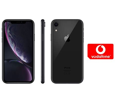 buy apple iphone xr pay as you go micro sim card bundle 64 gb black free delivery currys