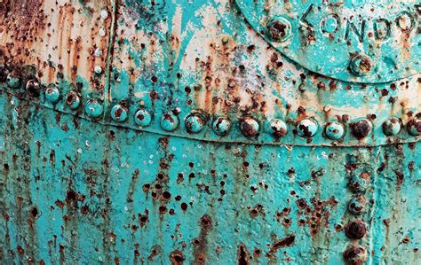 Nautical Theme by Free Images Texture Old Wall Steel Rust Green