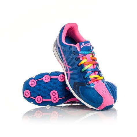 asics gel firestorm racing shoes indigo