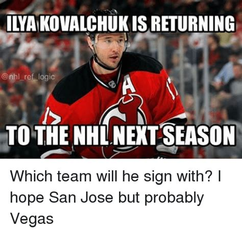 Meme Lai - ilaikovalchukisreturning ref logic to the nhl next season