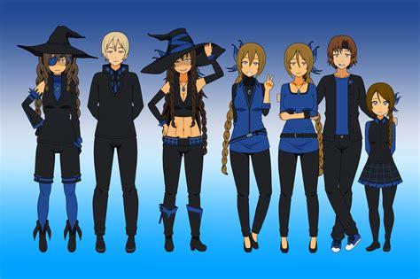 blue family the blue family by drascherr on deviantart