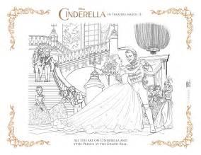 disney cinderella coloring pages activity sheets