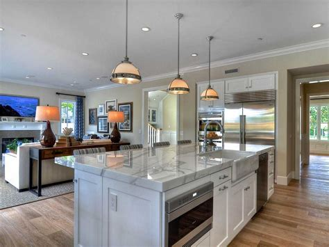 open concept kitchen ideas including awesome floor plan