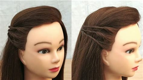 easy cute hairstyle  girls beautiful hairstyle