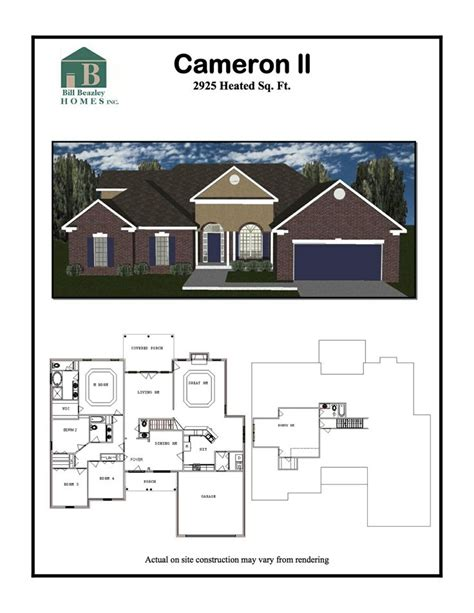 cameron ii floor plan highland homes 14 best images about retreat at storm branch on