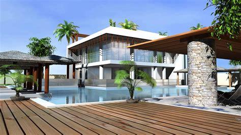 house with pool renders house renders