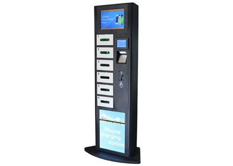 charging station phone lcd advertising cell phone charging station charging