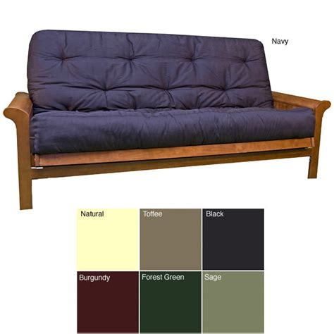 Thick Futon by Size 8 Inch Thick Futon Cotton Foam Mattress Green