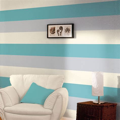 wallpaper grey and teal 3 colour striped textured designer wallpaper teal grey
