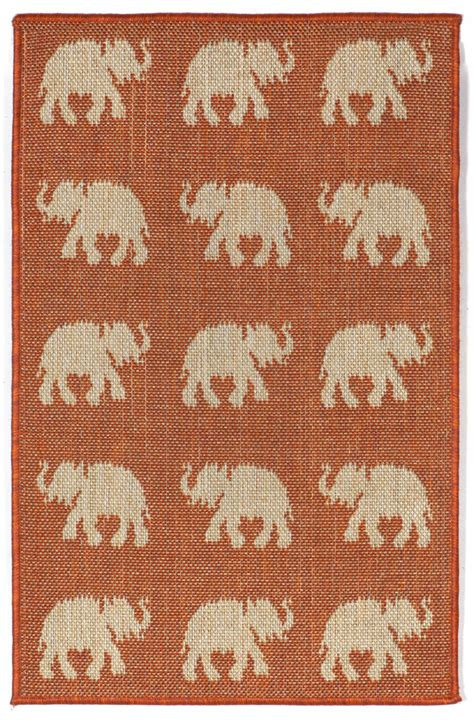 Elephant Rugs For Sale by Trans Terrace 1767 74 Elephants Terra Area Rug