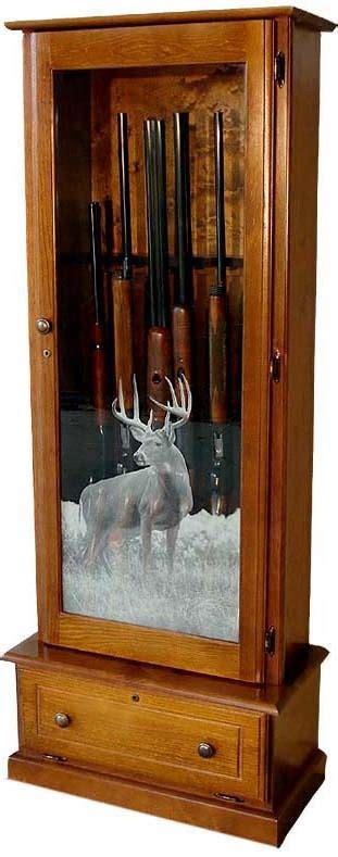solid wood 6 gun cabinet 6 gun wood gun cabinet pine locking storage area