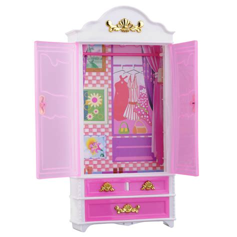 Pink Closet by Pink Closet Wardrobe For Princess Doll House Bedroom