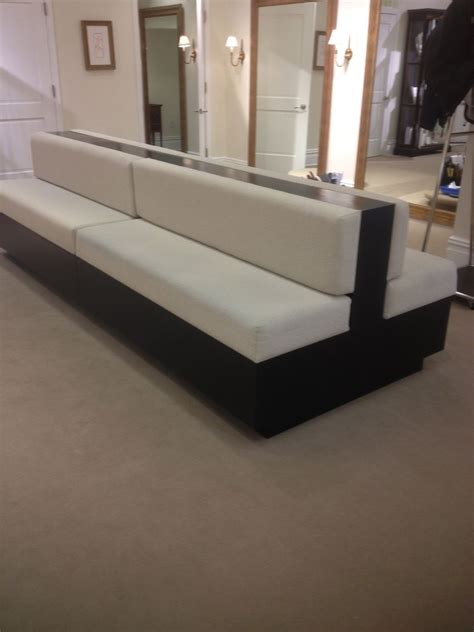 sided sofa furniture custom made two sided sofa by bmc millwork company inc