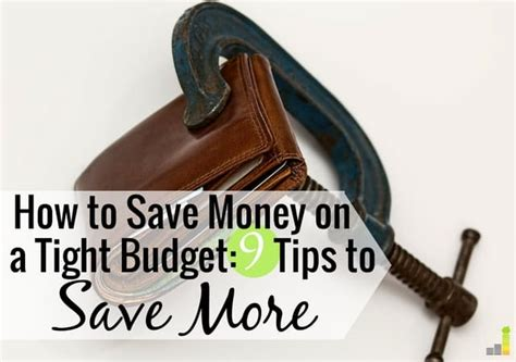 simple ways  save money   tight budget frugal rules