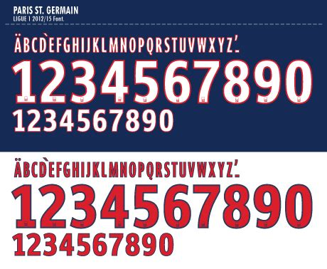 Custom Font Nameset Italy 2018 timix soccer patch font psg chions league 2014 15 kits