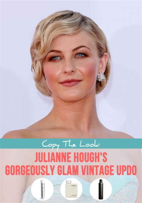 julianne hough updo step by step 8 easy steps to julianne hough hair glamorous vintage updo