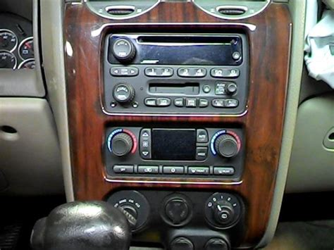 2004 gmc envoy radio 2004 gmc envoy radio lower dash removal 2004 gmc envoy