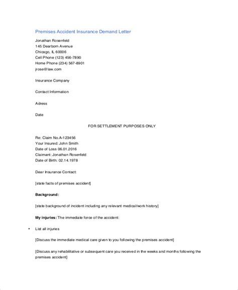 8 Sle Demand Letters Sle Templates Insurance Demand Letter Template