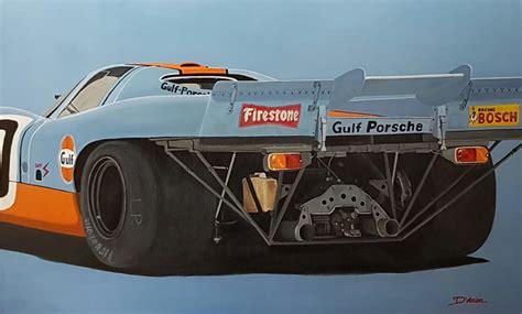 gulf porsche 917 porsche 917 le mans 1970 vue arri 232 re gallery race cars