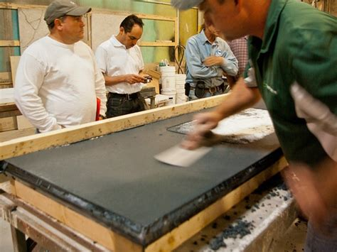 How To Make A Concrete Countertop In Place by 3 Day Concrete Countertop Cheng Concrete Exchange