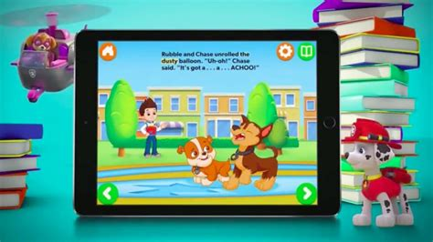 nick jr app for android nick jr books app offers interactive storytelling for