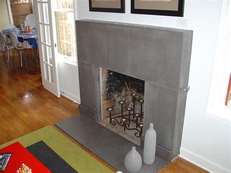 cement fireplace surround concrete countertops fireplace surrounds
