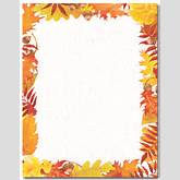 Displaying (18) Gallery Images For Fall Paper Borders...