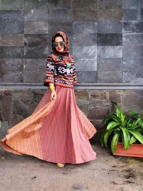 Pashmina Jilbab Tenun Kerudung Lurik lurik tenun why not ikat and batik style kebaya traditional fashion and hijabs