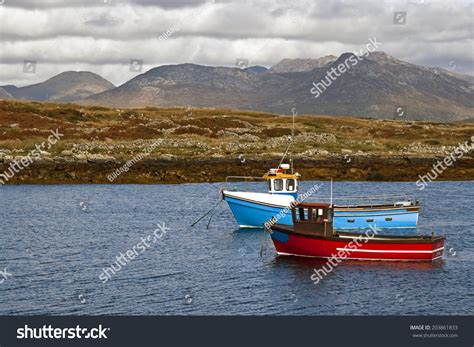 irish fishing boats ireland stock photo 203861833 - Sea Fishing Boat License Ireland