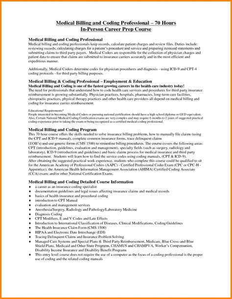 resume for billing and coding sle paralegal