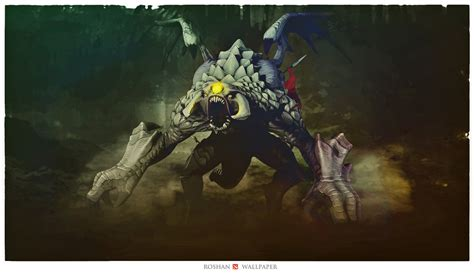 Dota 2 Roshan one of the coolest roshan drawings i found to date
