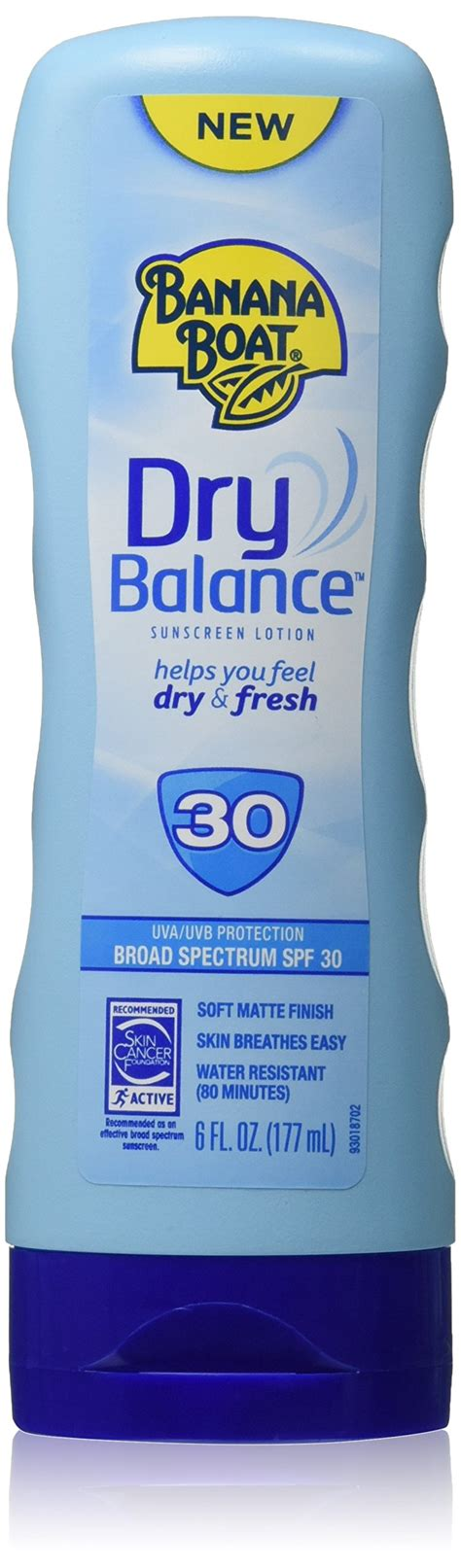 banana boat unscented sunscreen banana boat sunscreen dry balance broad